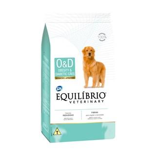 RAçãO EQUILíBRIO VETERINARY DOG OBESITY & DIABETIC ? 2KG _ TOTAL