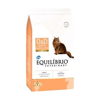 Ração Equilíbrio Veterinary Obesity & Diabetic Para Gatos