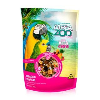 Ração Extrusada para Papagaio Mix Tropical Megazoo - 700 g