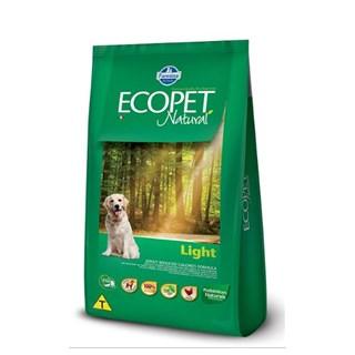 Ração Farmina Ecopet Natural Light Para Cães Adultos