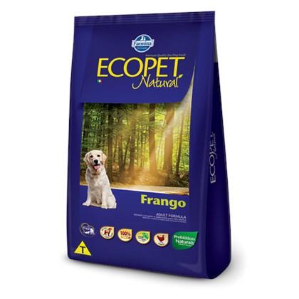 Ração Farmina Ecopet Natural Sabor Frango Para Cães Adultos