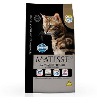 Ração Farmina Matisse Sabor Frango Para Gatos Adultos Castrados