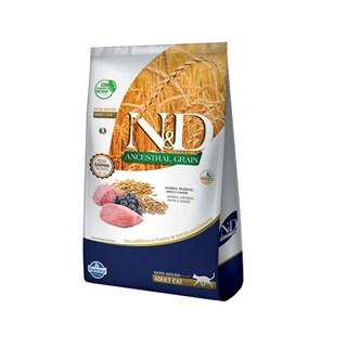 Ração Farmina N&D Ancestral Grain Sabor Cordeiro para Gatos Adultos