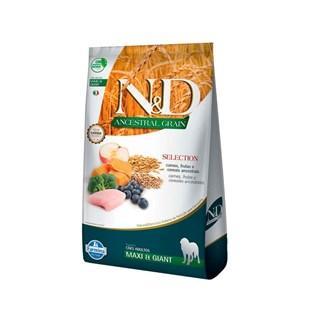 Ração Farmina N&D Ancestral Grain Selection Carnes e Frutas para Cães Adultos Raças Grandes