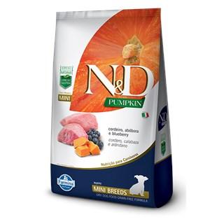 Ração Farmina N&D Pumpkin Cordeiro para Cães Filhotes de Raças Pequenas