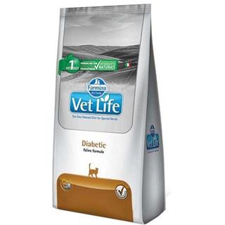 Ração Farmina Vet Life Diabetic Para Gatos Adultos
