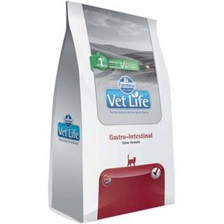Ração Farmina Vet Life Gastro-Intestinal para Gatos Adultos com Dificuldades Digestórias