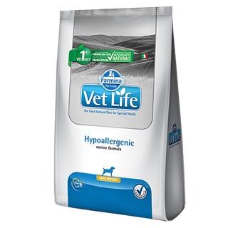 Ração Farmina Vet Life Hypoallergenic Para Cães De Raças Pequenas