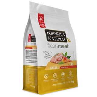 Ração Fórmula Natural Fresh Meat Light Sabor Frango Para Gatos Adultos