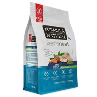Ração Fórmula Natural Fresh Meat para Cães Sênior de Raças Mini e Pequenas