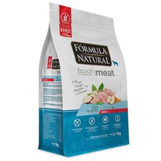 Ração Fórmula Natural Fresh Meat Sabor Frango Para Cães Filhotes De Raças Médias