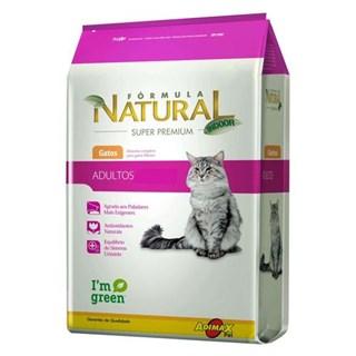 Ração Formula Natural Indoor Para Gatos Adultos
