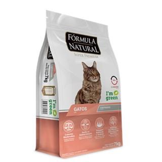 Ração Formula Natural Indoor Para Gatos Adultos Castrados