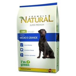 Ração Formula Natural Light Para Cães Adultos De Raças Médias e Grandes