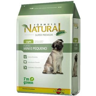 Ração Formula Natural Light Para Cães De Raças Mini e Pequenas