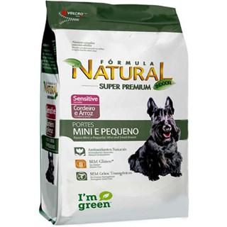 Ração Fórmula Natural Sensitive Cães Raças Mini e Pequena