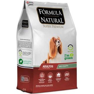 Ração Fórmula Natural Super Premium Frango para Cães Adultos Raças Mini e Pequena