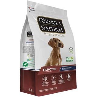 Ração Fórmula Natural Super Premium Frango para Cães Filhotes Raças Médias e Grandes