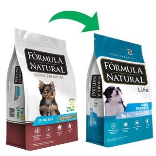 Ração Fórmula Natural Super Premium para Cães Filhotes Raças Minis e Pequenas