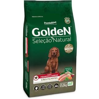 Ração Golden Premier Pet Seleção Natural para Cães Filhotes