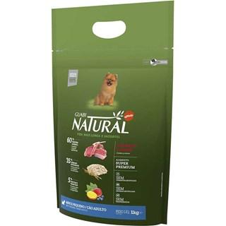 Ração Guabi Natural Sabor Cordeiro e Aveia Para Cães Adultos De Raças Pequenas
