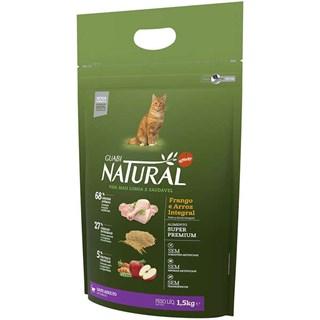 Ração Guabi Natural Sabor Frango e Arroz Integral Para Gatos Adultos