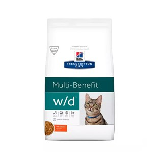 Ração Hills Prescription Diet C/D Multi-Benefit Diabetic Gastro-Intestinal para Gatos Adultos
