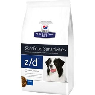 Ração Hills Prescription Diet Z/D Pele Sensível para Cães Adultos