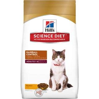 Ração Hills Science Diet Controle de Bolas de Pelo para Gatos Adultos
