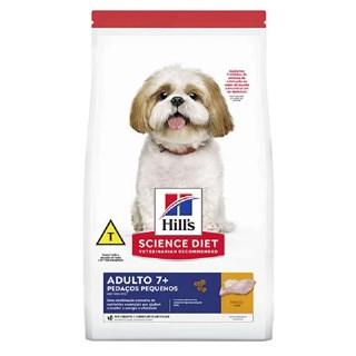 Ração Hills Science Diet Pedaços Pequenos para Cães Adultos 7+