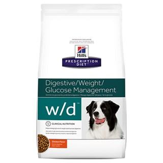 Ração Hills W/D Prescription Diet Canine Low Fat Diabetic - Gastrointestinal Health ? 3.8kg