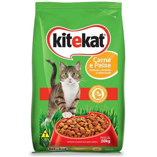 Ração Kitekat Carne e Peixe Para Gatos