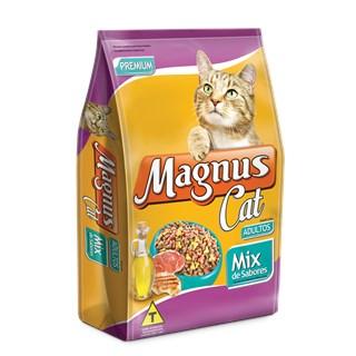 Ração Magnus Cat Mix De Es Para Gatos Adultos