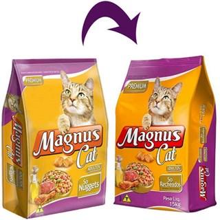 Ração Magnus Cat Nuggets para Gatos Adultos