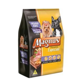 Ração Magnus Especial Frango e Cereais Para Cães Adultos De Raças Pequenas