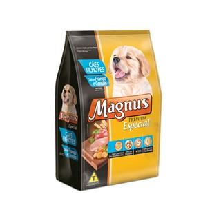 Ração Magnus Especial Frango e Cereais Para Cães Filhotes