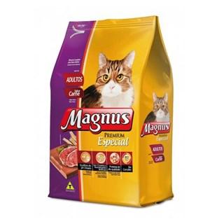 Ração Magnus Especial Sabor Carne Para Gatos Adultos
