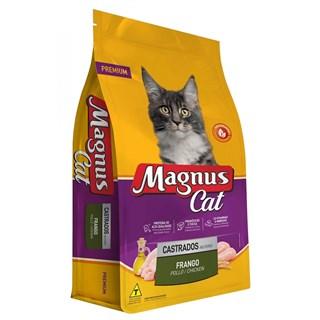 Ração Magnus Premium Sabor Frango para Gatos Adultos Castrados