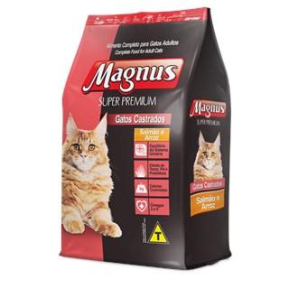 Ração Magnus Salmão e Arroz Para Gatos Castrados