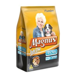 Ração Magnus Todo Dia Carne Para Cães Filhotes