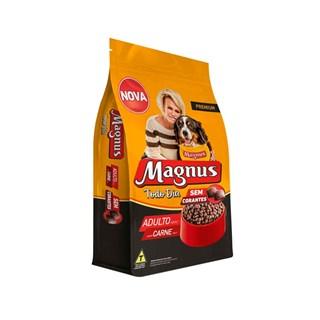 Ração Magnus Todo Dia Embalagem Promocional Sabor Carne para Cães Adultos