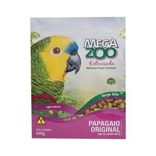 Ração Megazoo Extrusada Large Bits Para Papagaios