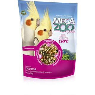 Ração Megazoo Mix Para Calopsitas