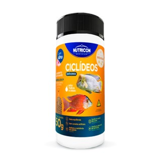Ração Nutricon Ciclídeos Onívoros Para Peixes