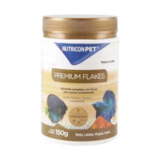 Ração Nutricon Premium Flakes Para Peixes Ornamentais Tropicais