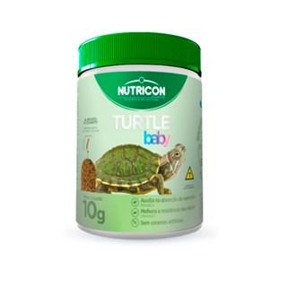 Ração Nutricon Turtle Baby Para Répteis Aquáticos Em Crescimento