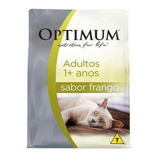 Ração Optimum Frango para Gatos Adultos 1+ anos