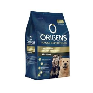 Ração Origens Raças Específicas Raças Labrador e Golden Retriever para Cães Adultos