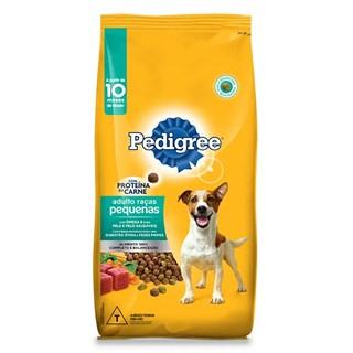 Ração Pedigree Carne e Vegetais Pague 13.5kg Leve 15kg para Cães Adultos Raças Pequenas