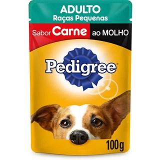 Ração Pedigree Vital Pro Sachê Carne Ao Molho Para Cães Adultos - 100g